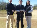 鳩山カントリークラブ お客様とゴルフ