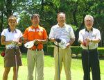 本厚木カンツリークラブ お客様とゴルフ
