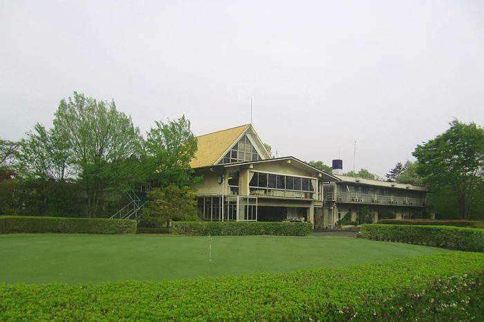 日本カントリークラブ お客様とゴルフ