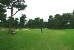 大利根カントリークラブ お客様とゴルフ